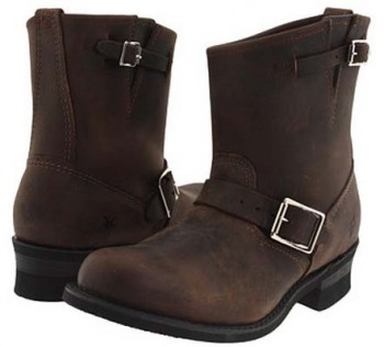 Rugged Frye Engineer Boots