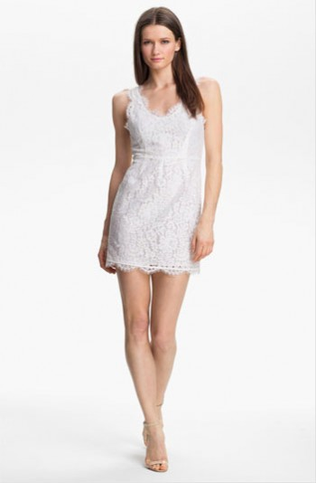 Joie Sleeveless Lace Dress