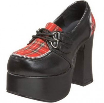 Adorable Demonia Plaid Heels